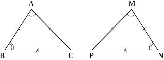 Hai tam giác bằng nhau