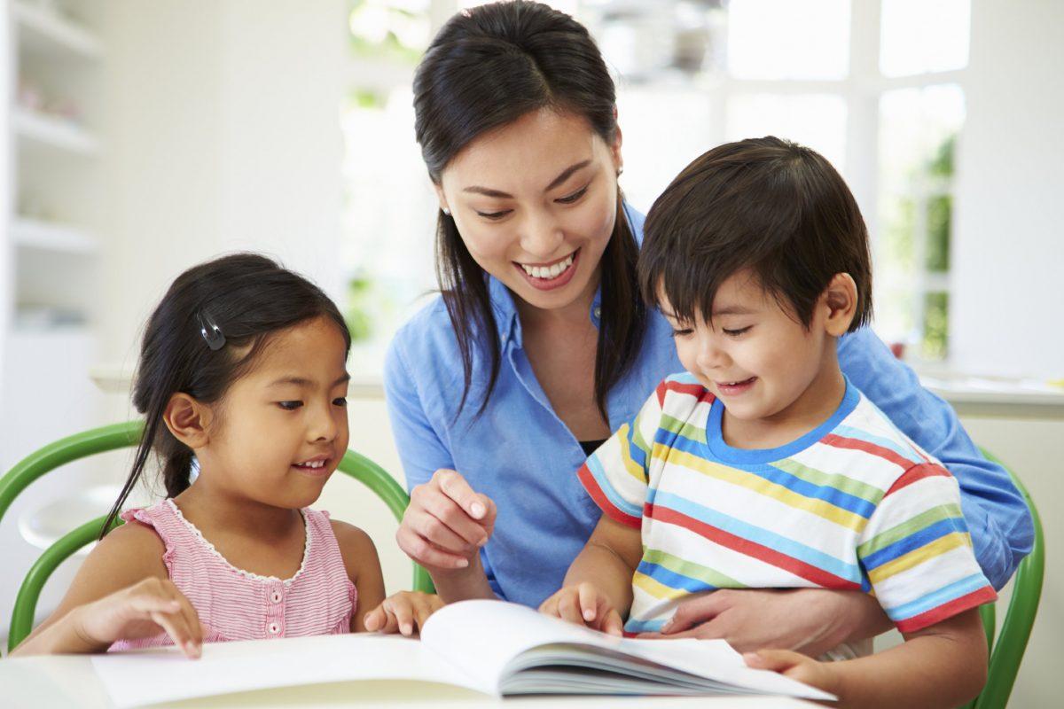 Cách dạy con học tiếng anh tại nhà