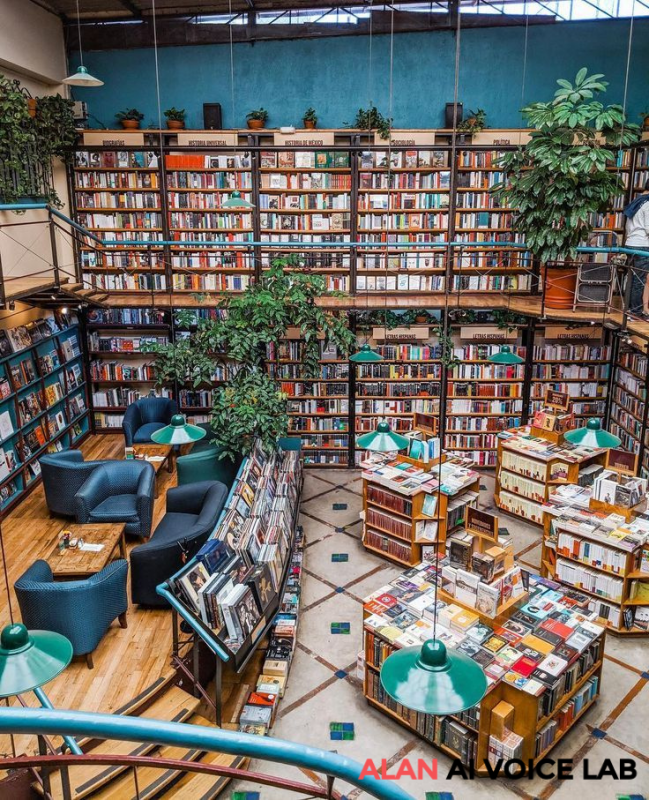 Book cafes can help subconscious mind